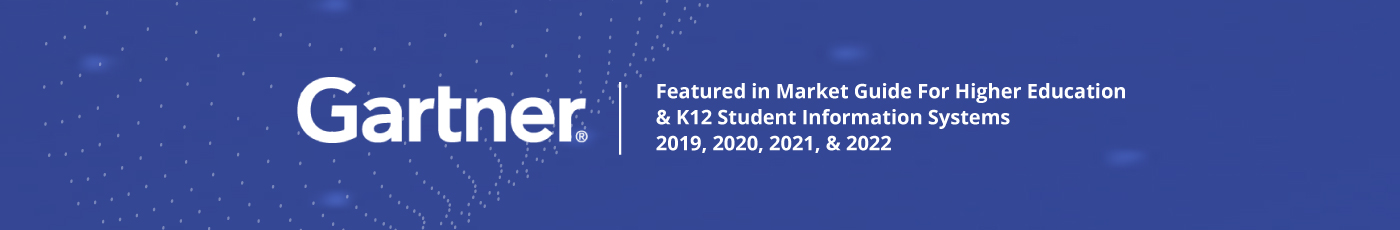Gartner's Market Guide for Higher Education - K12 Student Information Systems